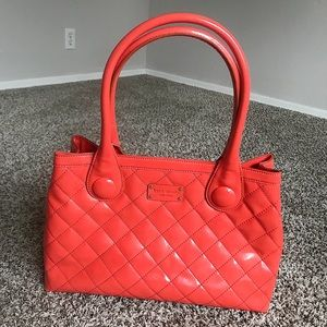 {Kate Spade} Leather Quilted Tote